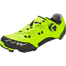 Northwave Ghost XCM Chaussures Homme, yellow fluo/black